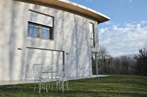 Abitazione modena a Belluno con tapparelle avvolgibili automatiche motorizzate in alluminio